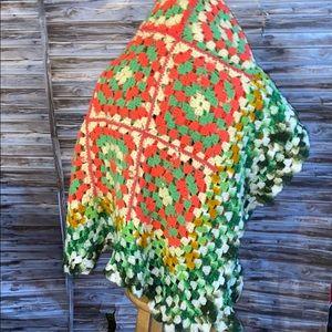 Homemade Crocheted Blanket